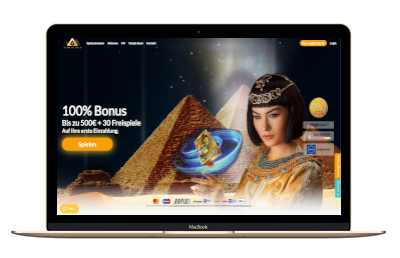 Temple Nile Casino Screenshot